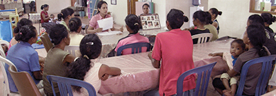 Snapshot: Educational class for mothers